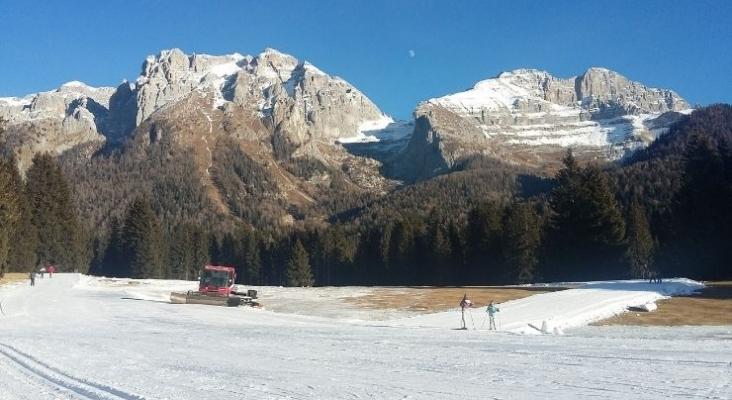 Las estaciones de esquí de Los Alpes se quedan sin nieve