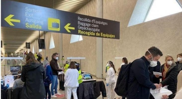 Nuevas medidas en los controles sanitarios de aeropuertos baleares y canarios de cara a Semana Santa | Foto mallorcadiario.com