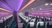 Airbus patenta nuevos asientos de avión para pasajeros con sobrepeso y familias con niños