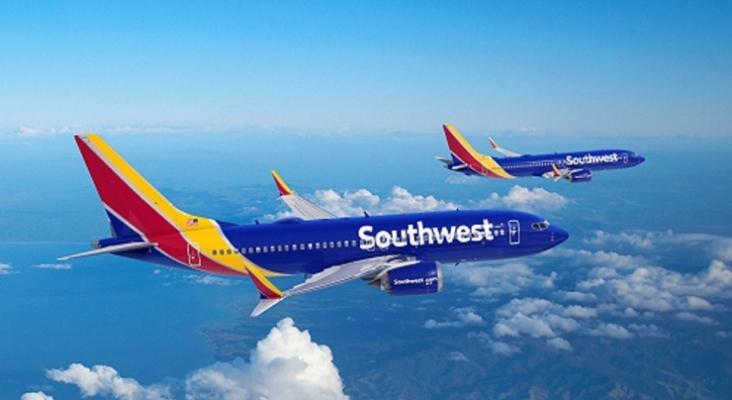 Boeing 737 MAX de Southwest. Foto por Boeing.