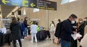 Se triplica la llegada de pasajeros internacionales a Mallorca durante el fin de semana. Foto Delegación del Gobierno