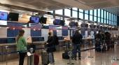 180 italianos llegan a Canarias en el  primer vuelo de prueba de Alpitour. Foto Alpitour