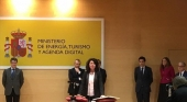 Matilde Asián jura su cargo como secretaria de Estado de Turismo