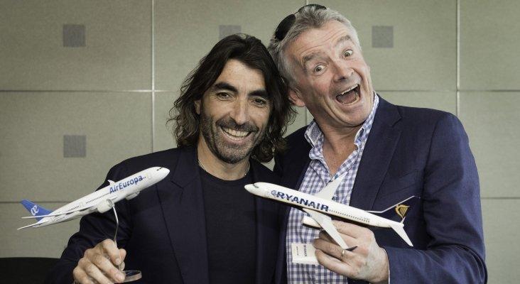 Air Europa y Ryanair firman una alianza