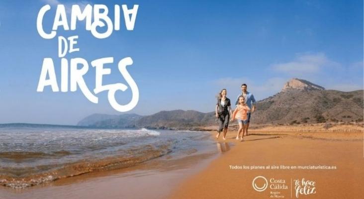 La Región de Murcia promueve la vuelta a un turismo seguro con la campaña 'Cambia de aires'