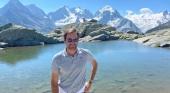 Roger Federer se convierte en embajador turístico de Suiza. Twitter @rogerfederer.