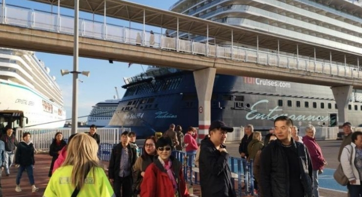 Valencia recorta terreno a Barcelona como puerto base de cruceros. Foto Valenciaport