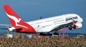 El pasajero abrió la puerta de una aeronave de Qantas