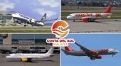Las aerolíneas confirman 2,3 millones de asientos para la Costa del Sol entre mayo y julio