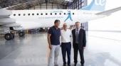 Air Europa rotula un avión con la imagen de Rafa Nadal Sports Centre