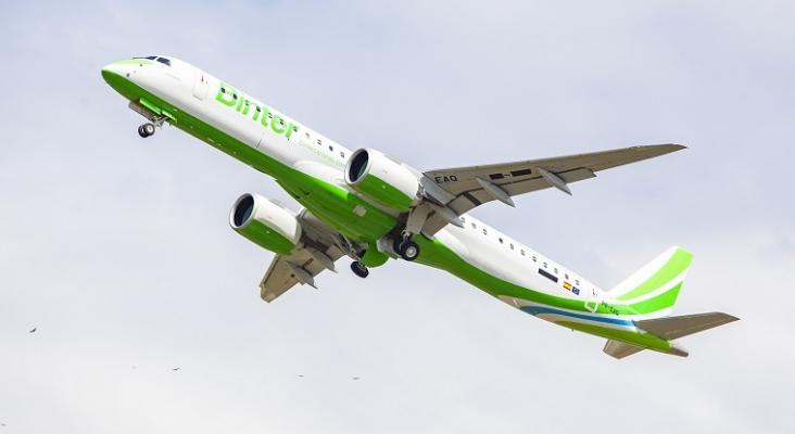 Binter lanzará nuevas rutas directas entre Canarias y cinco ciudades de Francia e Italia