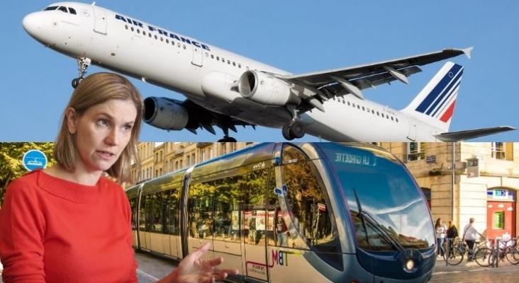 Francia prohíbe los vuelos internos que puedan hacerse en tren en menos de 2,5 horas. Foto usinenouvelle.com