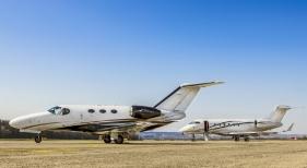 Baleares registró un 'boom' en la llegada de 'jets' privados en Semana Santa
