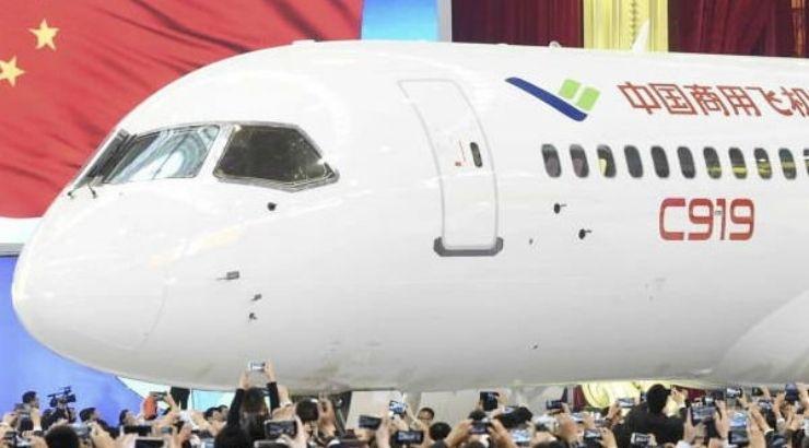 China pone en peligro el liderazgo de Boeing y Airbus