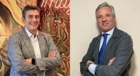 Pablo Parrilla y Carlos Garrido, vicepresidente y presidente de la Confederación Española de Agencias de Viajes (CEAV)