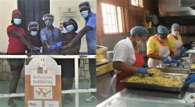 RIU entrega más de 27.000 menús en Cabo Verde a familias perjudicadas por el Covid-19
