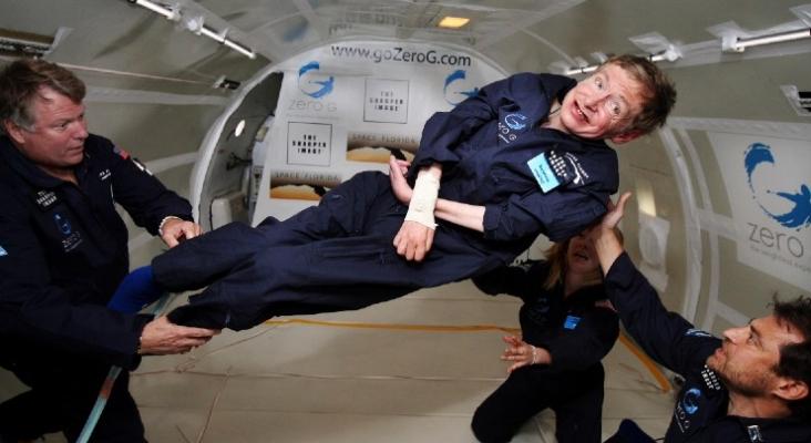Stephen Hawking será turista espacial