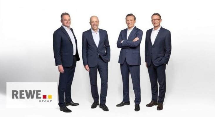 En la imagen: Sören Hartmann, Jan Kunath, Lionel Souqe y Christian Mielsch   Foto Rewe