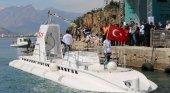Antalya estrena el primer submarino turístico del Mediterráneo