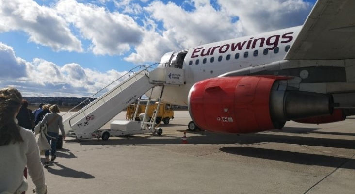 Eurowings cancela el 75% de los vuelos entre Alemania e Ibiza en mayo | Foto Tourinews