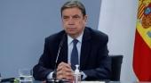 El ministro de Agricultura, Pesca y Alimentación, Luis Planas, dando una rueda de prensa sobre el proyecto de reforma de la Ley de la Cadena Alimentaria | Captura de vídeo RTVE