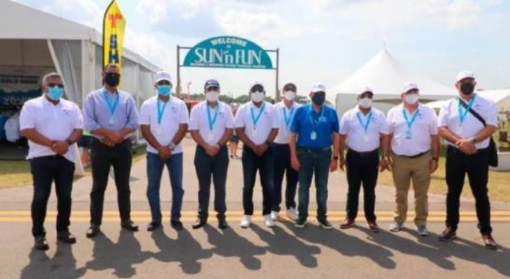 """""""Feria de Aviación SUN 'n FUN Aerospace Expo 2021"""" celebrada en Florida   Foto diariolibre.com"""