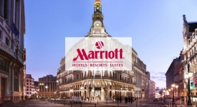 La marca de lujo JW Marriott debutará en España en 2022 con un hotel en Madrid | Fotomontaje vista de la zona céntrica en la Plaza de Canalejas | lamela.com