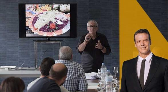 En honor al ENORME Josep Moré, del que aprendimos la idea de renovar nuestro buffet | Foto: InfoHoreca