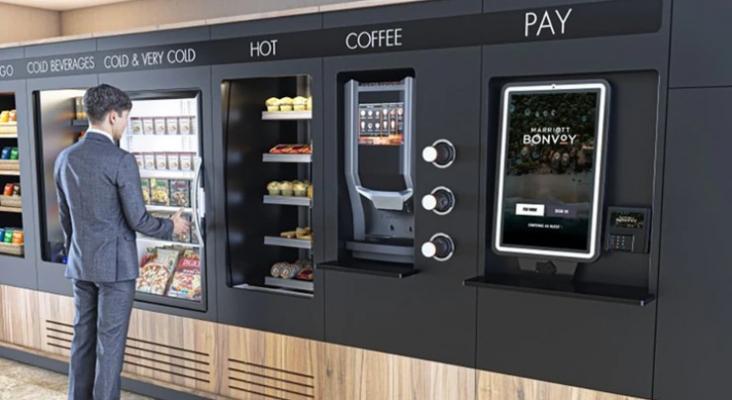 Marriott sustituye sus buffets por máquinas expendedoras   Foto de Marriott International Inc.