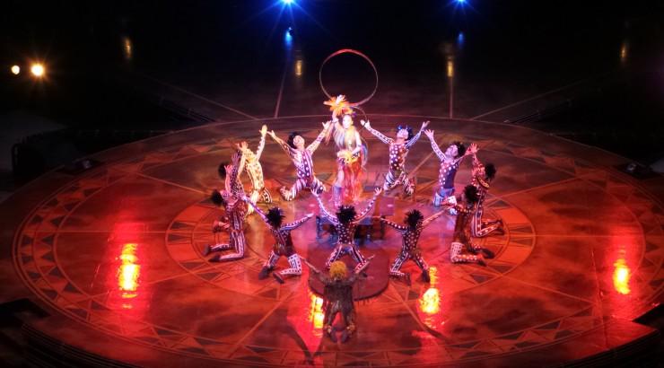 Cirque du Soleil antes de la pandemia. Foto de El Coleccionistas de Instantes (Flickr)