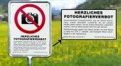 ¿Conoces el lugar donde está prohibido fotografiar montañas?