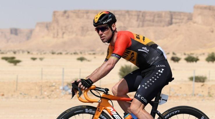 Mark Cavendish, uno de los ciclistas de élite que ha elegido Canarias más de una ocasión para preparar la temporada | Foto getty images