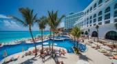 Cancún (México) casi iguala los niveles de viajeros de 2019 gracias a la falta de restricciones. Foto RIU