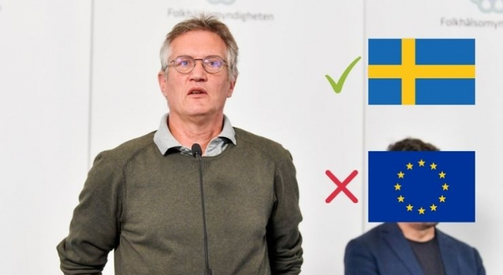 Epidemiólogo Anders Tegnell, encargado de liderar la estrategia nacional contra el Covid-19 en Suecia | Foto eurotopics.net