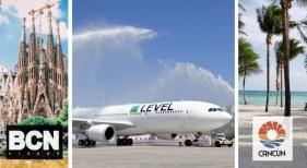 Level (IAG) unirá Barcelona con Cancún (México) este verano
