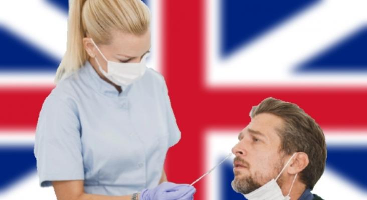 """Los laboratorios británicos podrían """"colapsar"""" con la vuelta de los viajes internacionales   Foto PCR: Direct Media vía stocksnap.io"""