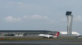 Avión de Turkish Airlines en Estambul