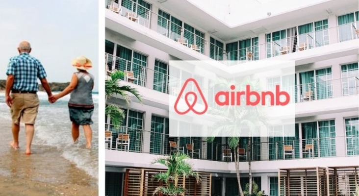 Los viajeros sénior se atreven con Airbnb para sus vacaciones este verano| Fotomontaje a través de latercera.com
