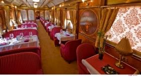 Fotografía del interior del tren turístico de lujo Al Andalus | Renfe