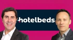 Joan Vilà y Nicolas Huss, anterior y nuevo consejero delegado de Hotelbeds, respectivamente | cincodias.elpais.com