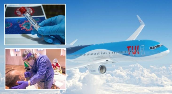 TUI Reino Unido lanza paquetes de pruebas Covid 19 para facilitar los viajes