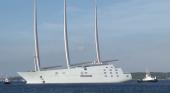 España acoge al velero más grande del mundo