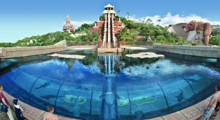 Siam Park situado en Costa Adeje, Tenerife