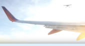 Un dron casi colisiona con un avión de pasajeros en California