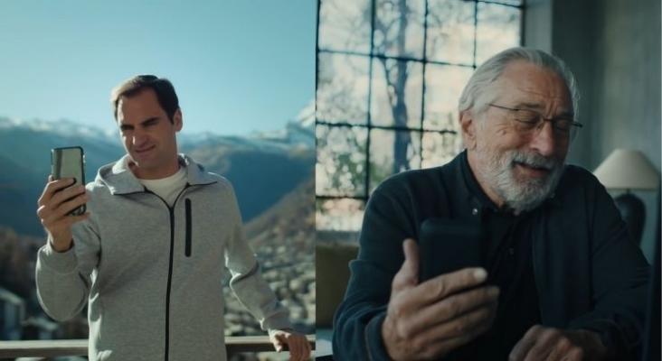 Robert de Niro se suma a Federer en la promoción turística de Suiza