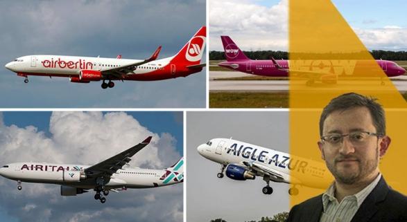 Por qué quiebra una aerolínea