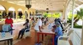 Las hoteleras españolas completan la primera fase de vacunación en R. Dominicana | Foto twitter @DavidColladoM