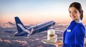 Breeze Airways contratará estudiantes becados para su tripulación de cabina | Fotos de Breeze Airways y Austrian Airlines
