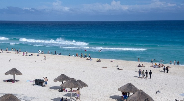 México recibió 2,1 millones de turistas internacionales en marzo