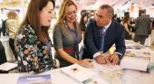 Mª Dolores Corujo presidenta del Cabildo de Lanzarote y Ángel Vázquez, consejero de Promoción Turística | Foto archivo